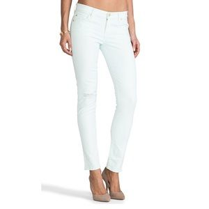 7 for all Mankind Slim Cigarette Jeans - 25